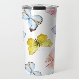 Butterfly Pattern 04 Travel Mug