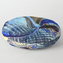 Glass Plate Floor Pillow