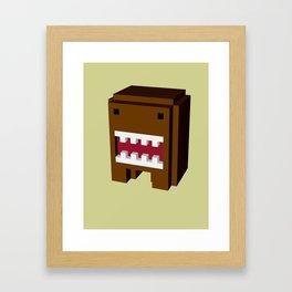 japan monster Framed Art Print