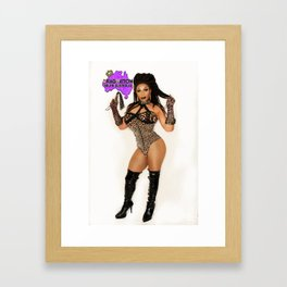 Dragnation SA  - Kween Kong Framed Art Print