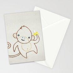 M Monkey Stationery Cards