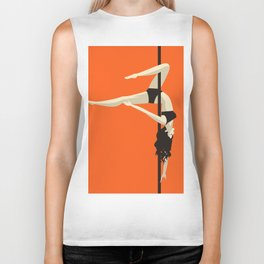 pole dancer Biker Tank