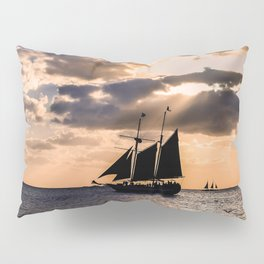 Sunset in Key West, Florida Pillow Sham