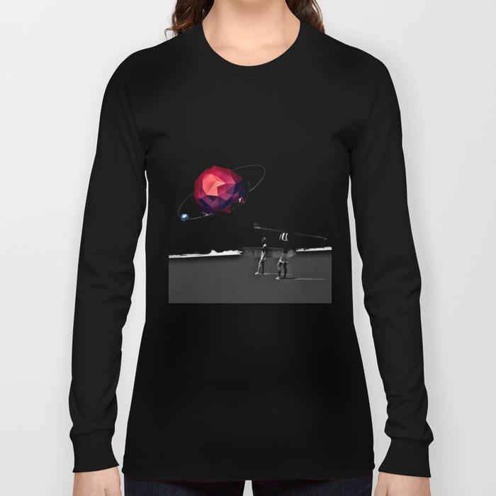 Square Beach Long Sleeve T-shirt