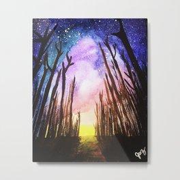 Twilight Woods Metal Print