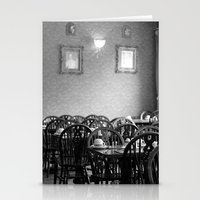 cafe Stationery Cards featuring Cafe by J. Ann Photography