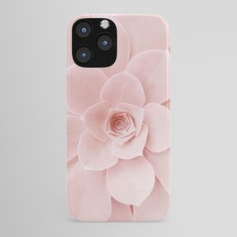 Blush Succulent iPhone Case