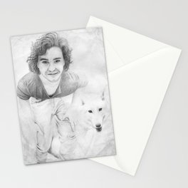 JON AND GHOST Stationery Cards