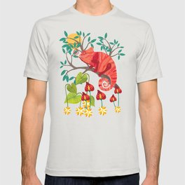 The Red Chameleon  T-shirt