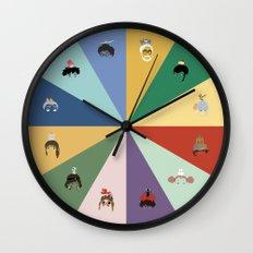 Miyazaki's world. Wall Clock