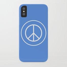 WORLD PEACE iPhone Case