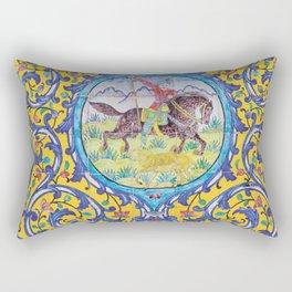 Iranian tiles Rectangular Pillow