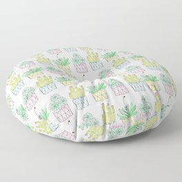 Succulent Trio Floor Pillow