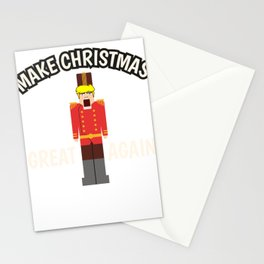 Christmas Anti Trump Nutcracker funny gift Stationery Cards