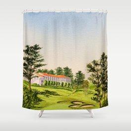 Olympic Golf Club 18th Hole Shower Curtain