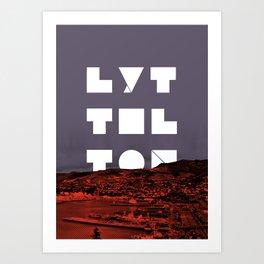 Happy Lyttelton Art Print