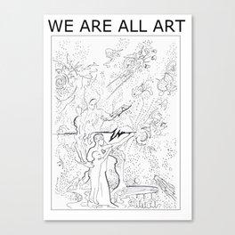 Universal Child Canvas Print