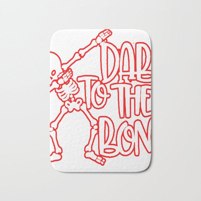 Dab to the Bone Bath Mat