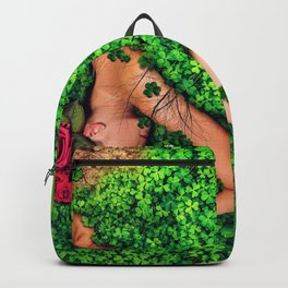Birth of a New Dawn Female Portrait Backpack
