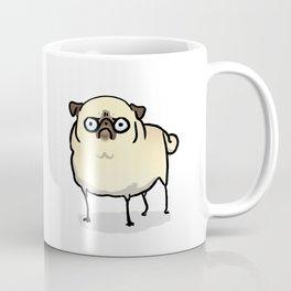 Angry pug - fawn Coffee Mug