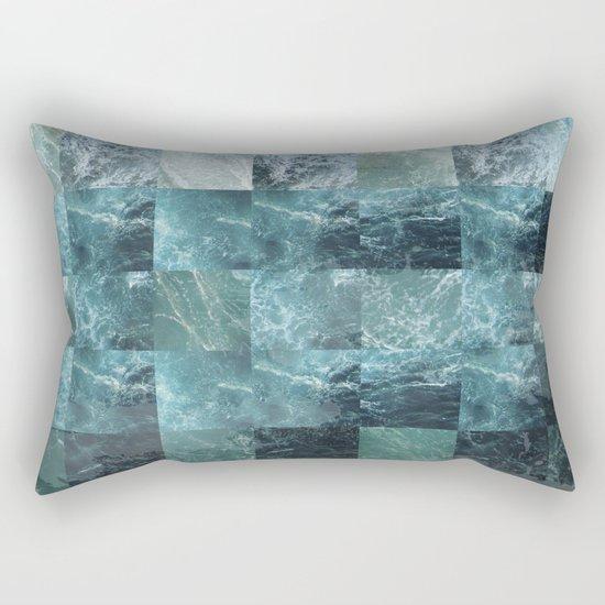 Abstract sea Rectangular Pillow