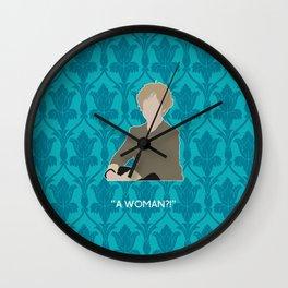 The Empty Hearse - Mrs. Hudson Wall Clock