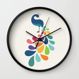 Dreamy Petal Wall Clock