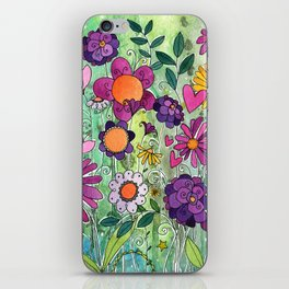 Purple Plum Parfait iPhone Skin