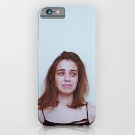 Please don't cry iPhone Case