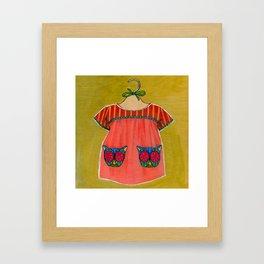Avery Dress 01 Framed Art Print