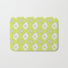 Fresh As A Daisy (Lime) Bath Mat