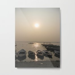 The Ganges River Metal Print
