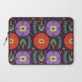 Flowerfully Folk Laptop Sleeve