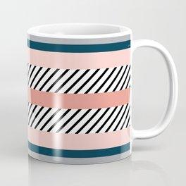 Colorful navy stripes Coffee Mug