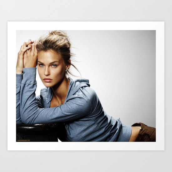 Bar Refaeli Art Print