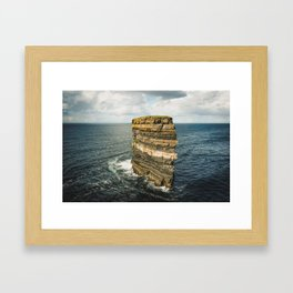 Dun Briste Framed Art Print