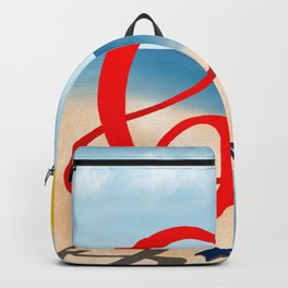 Baby B at the Beach Backpack