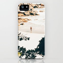 Solo Traveler || #illustration #travel iPhone Case