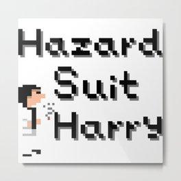 Hazard Suit Harry Metal Print