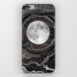 Moon Glow iPhone Skin