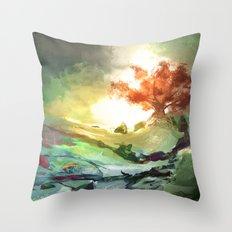 Weirwood Throw Pillow