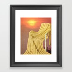 the fabric of reality (soft) Framed Art Print