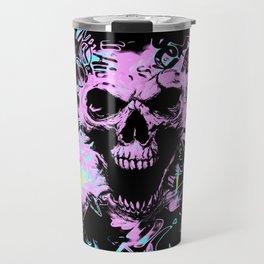 Alternative Skull Graffiti Travel Mug