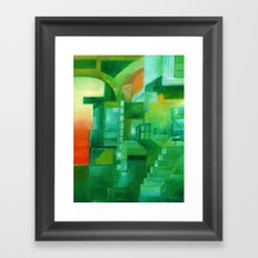Different Kinds of Mornings Framed Art Print