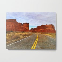 The Southwest Metal Print