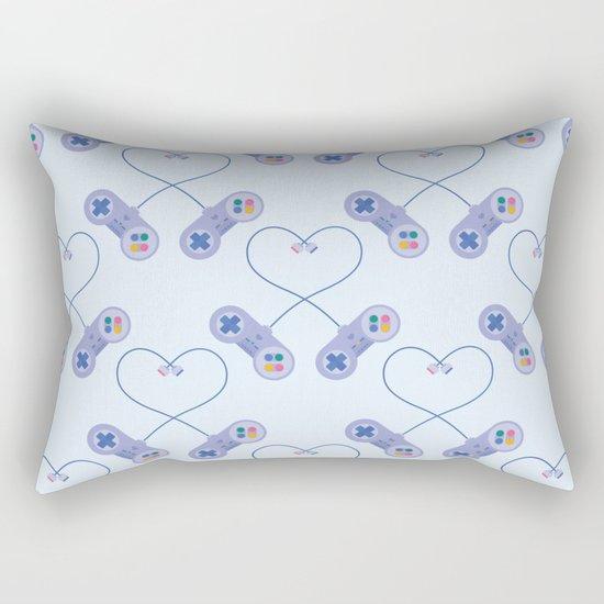 Be My Player 2 Rectangular Pillow