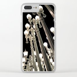 Lights in Lines 3 Clear iPhone Case