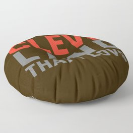 Cleveland That I love Floor Pillow