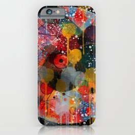 Kandinsky Action Painting Street Art Colorful iPhone Case