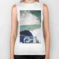 surf Biker Tanks featuring Surf by Bella Blue Photography